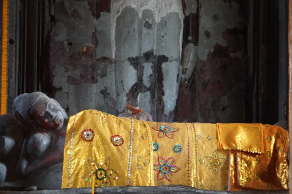 Liegender Buddha in Angkor Wat