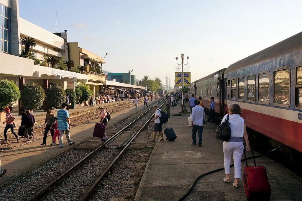 Bahnhof in Quy Nhon
