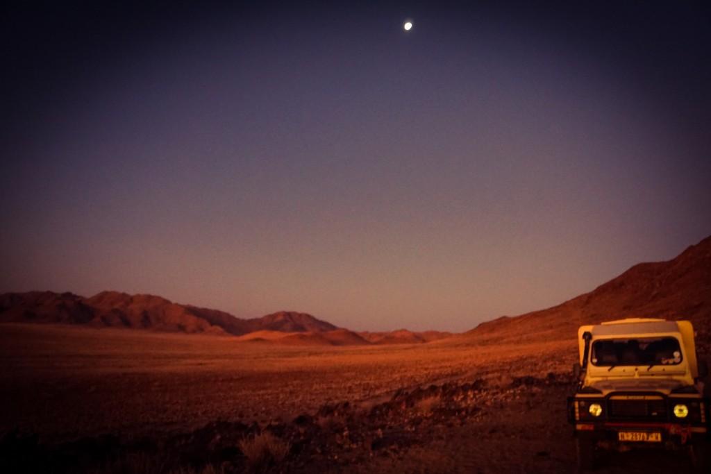 Sonnenunter- und Mondaufgang