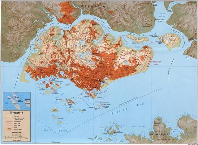 Singapur_Map