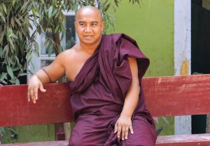 Abt der Klosterschule in Sagaing